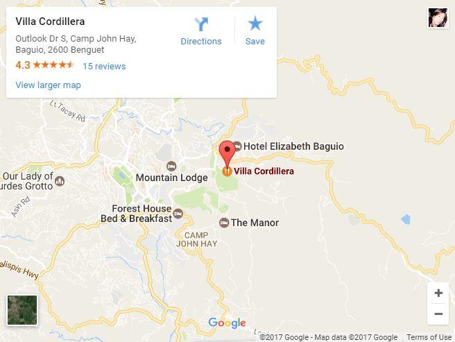 villa-cordillera-map